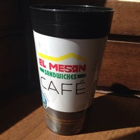 Photo taken at El Mesón Sandwiches by Adrienne C. on 3/31/2014
