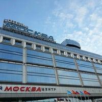 Снимок сделан в Москва / Moscow Hotel пользователем Владимир Ш. 11/20/2012