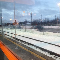 Photo taken at Aurora GO Station by Ron C. on 2/15/2013