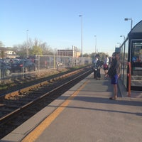 Photo taken at Aurora GO Station by Ron C. on 5/6/2013