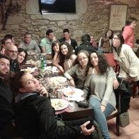 Photo taken at Meson Restaurante O Lagar by Francesc S. on 4/5/2013