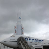 Photo taken at Aéroport Paris-Le Bourget (LBG) by Manon T. on 6/20/2013