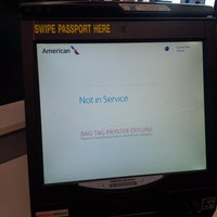 Photo taken at American Airlines Ticket Counter by Enrique D. on 5/17/2013