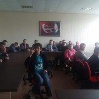 Photo taken at Simav Fen Lisesi by Özge S. on 3/31/2015