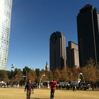 Photo taken at Klyde Warren Park by Alejandra R. on 11/24/2012