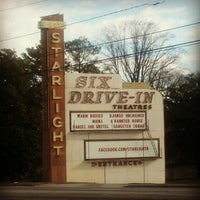 Photo taken at Starlight Six Drive-In by Kenneth C. on 2/12/2013