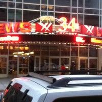 Photo taken at AMC Loews 34th Street 14 by Chris C. on 2/17/2013