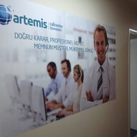 Photo taken at Artemis Call Center by Halil-kad Ş. on 11/7/2012