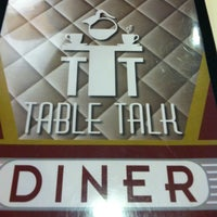 Photo taken at Table Talk Diner by Gabby H. on 4/13/2013