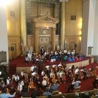 Photo taken at Congregation Beth Elohim by Dan S. on 4/10/2016