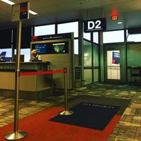 Photo taken at Gate D2 by Biz T. on 8/19/2016