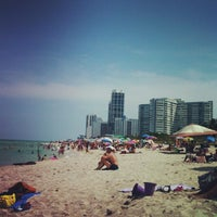 Photo taken at 75th Street Beach by Colin A. on 6/15/2013