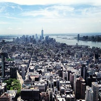 5/11/2013にChristine S.がEmpire State Building 86th Floor Observation Deckで撮った写真