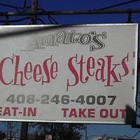 Photo taken at Amato's Cheesesteaks by Diamand D. on 1/12/2013