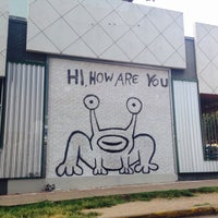 Photo taken at Hi How Are You? Mural by T. Frank S. on 7/5/2016