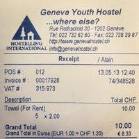 Photo taken at Geneva Hostel by Asanee P. on 5/13/2013