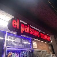 Photo taken at El Paisano Mercado by Talal A. on 3/31/2017