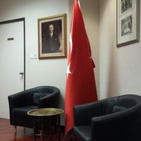 Photo taken at Turkish consulate by Taylan T. on 11/24/2014