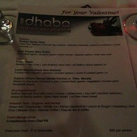 Photo taken at 309 Dhaba Indian Excellence by Litzia P. on 2/15/2013