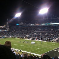 Photo taken at EverBank Field by Christian E. on 11/9/2012