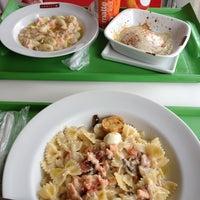 Photo taken at Spoleto Culinária Italiana by Nathália G. on 12/23/2012