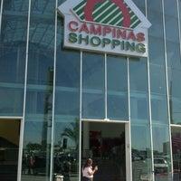 Photo taken at Campinas Shopping by Lucas Veríssimo d. on 11/22/2012