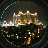 Photo taken at Galaxy Macau 澳門銀河渡假綜合城 by Vasyl K. on 3/14/2013