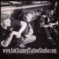 Photo taken at Dongan Hills by Inkstained Tattoo Studio on 5/16/2014