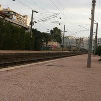 Photo taken at Gare SNCF de Nice Saint-Augustin by Izzuddin K. on 11/22/2014