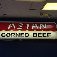 Photo taken at Asian Corned Beef by Gregory B. on 3/18/2013