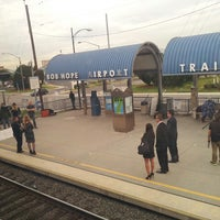 Photo taken at Metrolink Burbank-Bob Hope Airport Station by devo on 12/18/2013