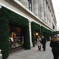 Photo taken at Selfridges & Co by LuckySleven on 11/26/2012