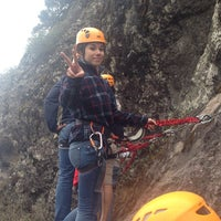 Photo taken at Via Ferrata Hidalgo Adventure by K R. on 4/18/2014