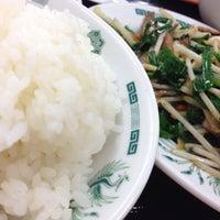 Photo taken at 日高屋 八丁堀新大橋通店 by Chiba M. on 8/31/2013