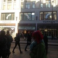 Photo taken at Topshop by Aladdin J. on 11/30/2012