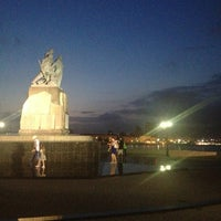 Photo taken at памятник рыбакам by Юрий Д. on 8/2/2013