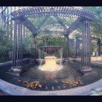 Photo taken at Katharine Hepburn Garden by Jo . on 10/5/2012