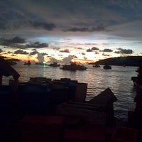 Photo taken at Tanjung Aru 1st Beach by Amxa S. on 4/27/2013