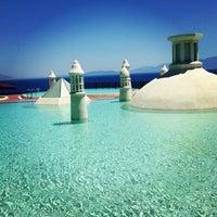 Photo taken at Kempinski Hotel Barbaros Bay by M S. on 6/24/2013
