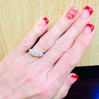 Photo taken at City Nails & Spa by Velida D. on 3/21/2014