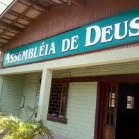 Photo taken at Assembleia de Deus em Santa Monica by Wellesson B. on 1/13/2013