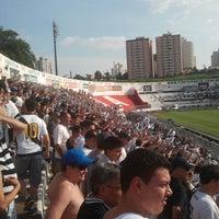 Photo taken at Estádio Moisés Lucarelli by WEBNIGHT RADIO on 4/28/2013