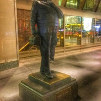 Photo taken at Ralph Kramden Statue by Elijah Zu B. on 10/22/2016