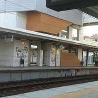 Photo taken at Estação Ferroviária de Moscavide by Flavia S. on 7/5/2013