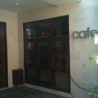 Photo taken at Silok cafe Hotel Santika by Indra G. on 1/17/2013