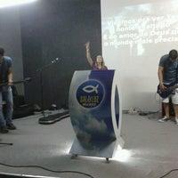 Photo taken at Igreja Batista Sal & Luz by Larissa B. on 5/3/2013