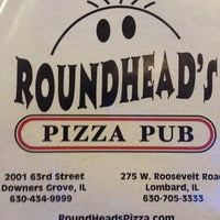 Photo taken at Roundhead's Pizza Pub by Ed A. on 11/14/2016