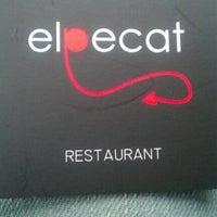 Photo taken at Restaurante El Pecat by Pau M. on 11/26/2012
