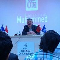 Photo taken at İstanbul Gelişim Üniversitesi by Şifa K. on 4/29/2013