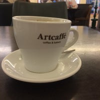 Photo taken at Artcaffe by MCICEK on 1/20/2017